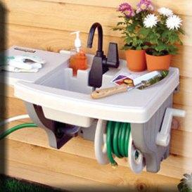 Instant Outdoor SinkNo Plumbing Required Garden Designing